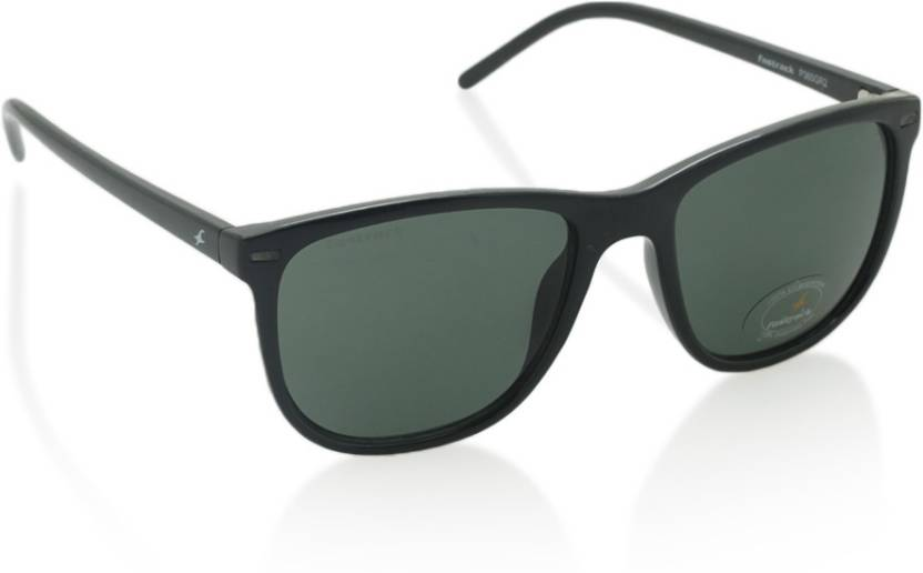 7f5d86a9ce08 Buy Fastrack Wayfarer Sunglasses Green For Men Online   Best Prices ...