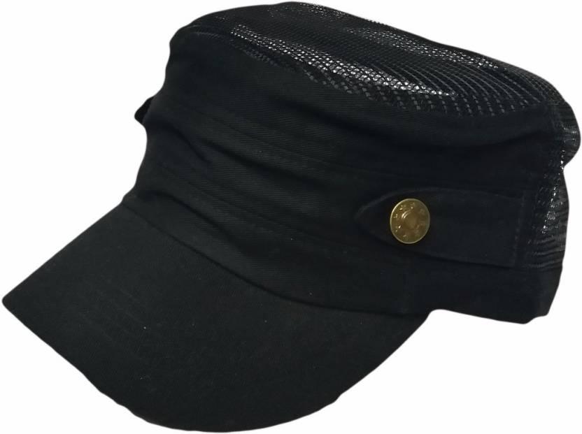 69d8e86d8d9 Friendskart Self Design Short Cap In Half Net Black Colour Famous For Mens  And Boys Cap - Buy Friendskart Self Design Short Cap In Half Net Black  Colour ...