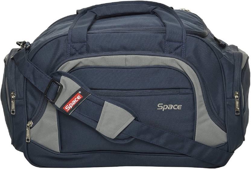 9e0e8a9cd SPACE Eminent Travel Duffel Bag Blue - Price in India | Flipkart.com
