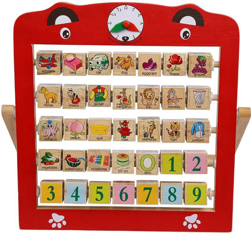 Montez Alphabet Teaching Frame Fun Way To Learn Numbers and Letters ...