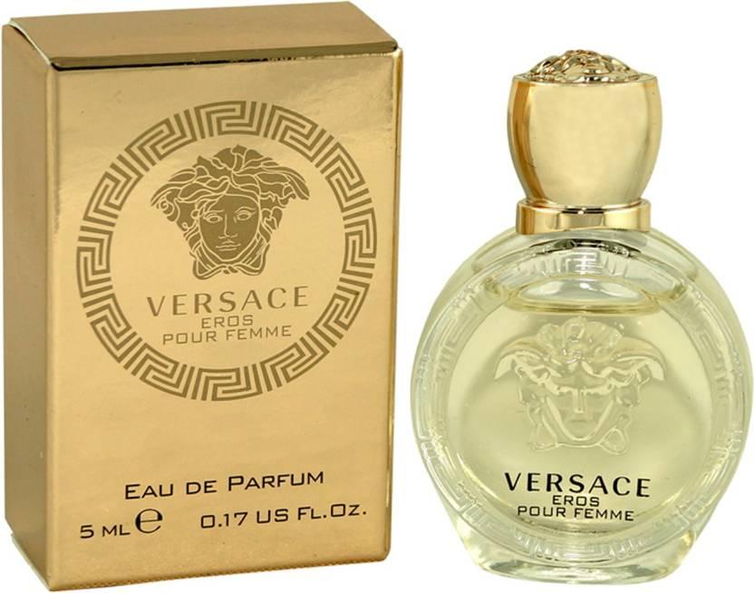 Buy Versace Eros Pour Femme For Women Eau De Parfum 5 Ml Online In
