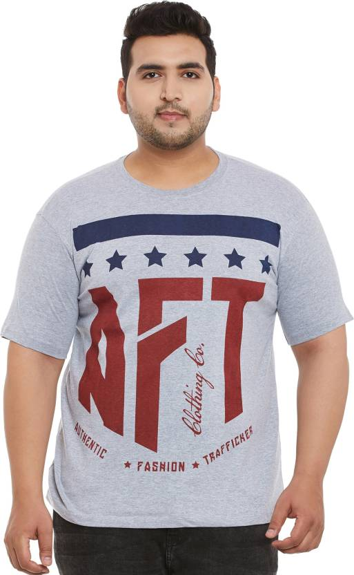 0e43c449 DIFFERENCE OF OPINION Printed Men's Round Neck Grey T-Shirt - Buy  DIFFERENCE OF OPINION Printed Men's Round Neck Grey T-Shirt Online at Best  Prices in India ...