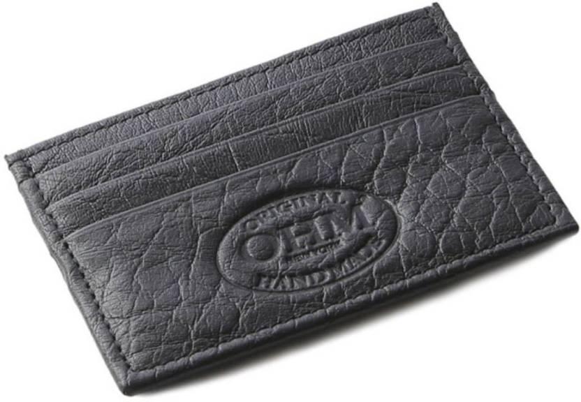 e814f372178a Flipkart.com | OHM NEWYORK Men's 6 Card Holder - Card Holder