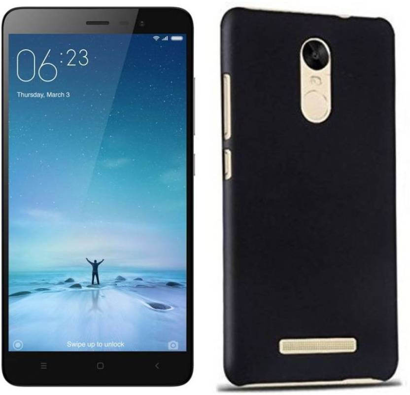 Flipkart SmartBuy Back Cover for Mi Redmi Note 3 (Space Black, Plastic)