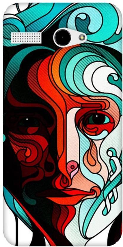 Fasheen Back Cover for Lava Iris Atom 2
