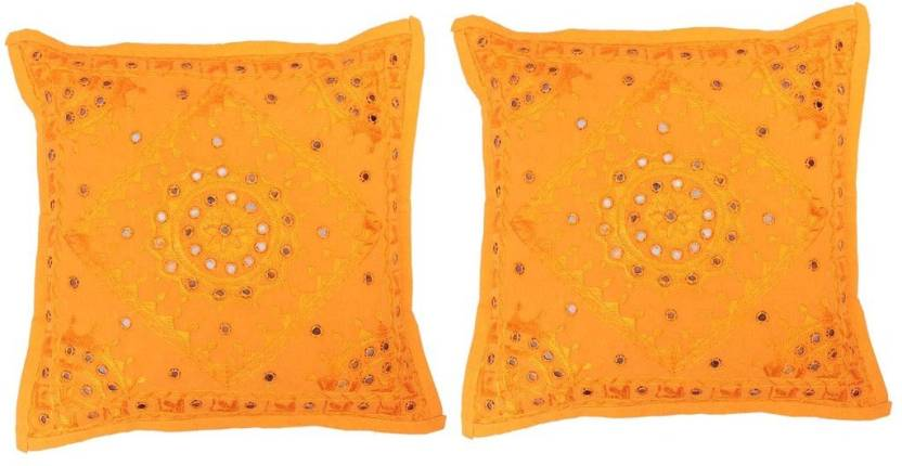 Vedam Embroidered Cushions Cover