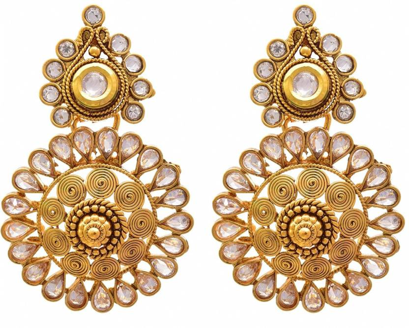 7cdfdc834 JFL-Jewellery For Less JFL - Traditional & Ethnic Polki Cz American Diamond  Kundan Designer
