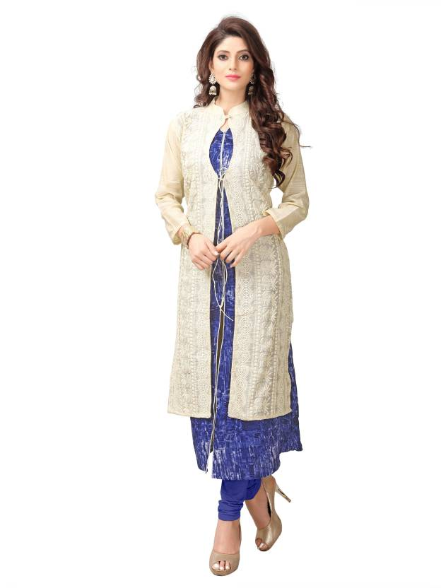 Elevate Women Festive & Party Printed, Embroidered Women's Kurti
