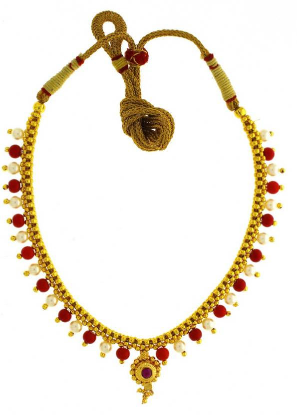 ab685ae91 Anuradha Art Jewellery Traditional Designer Gold-plated Plated Metal  Necklace Price in India - Buy Anuradha Art Jewellery Traditional Designer  Gold-plated ...