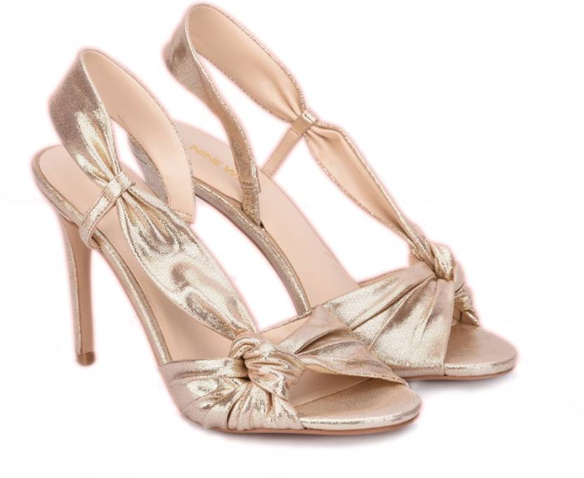 4be8ab05ed6f Nine West Women LT GOLD MT Heels - Buy LT GOLD MT Color Nine West Women LT  GOLD MT Heels Online at Best Price - Shop Online for Footwears in India ...