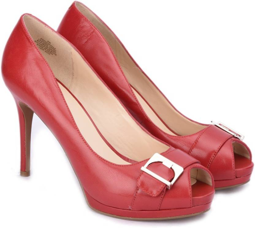 d57dce47a79a Nine West Women RED Heels - Buy RED Color Nine West Women RED Heels Online  at Best Price - Shop Online for Footwears in India