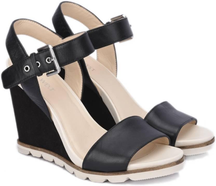 77082efc73 Nine West Women BLACK Wedges - Buy BLACK Color Nine West Women BLACK Wedges  Online at Best Price - Shop Online for Footwears in India | Flipkart.com