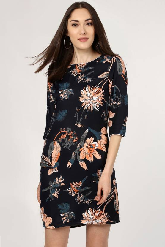 e0f217843a8 Sassafras Women's Shift Multicolor Dress - Buy Sassafras Women's Shift  Multicolor Dress Online at Best Prices in India | Flipkart.com