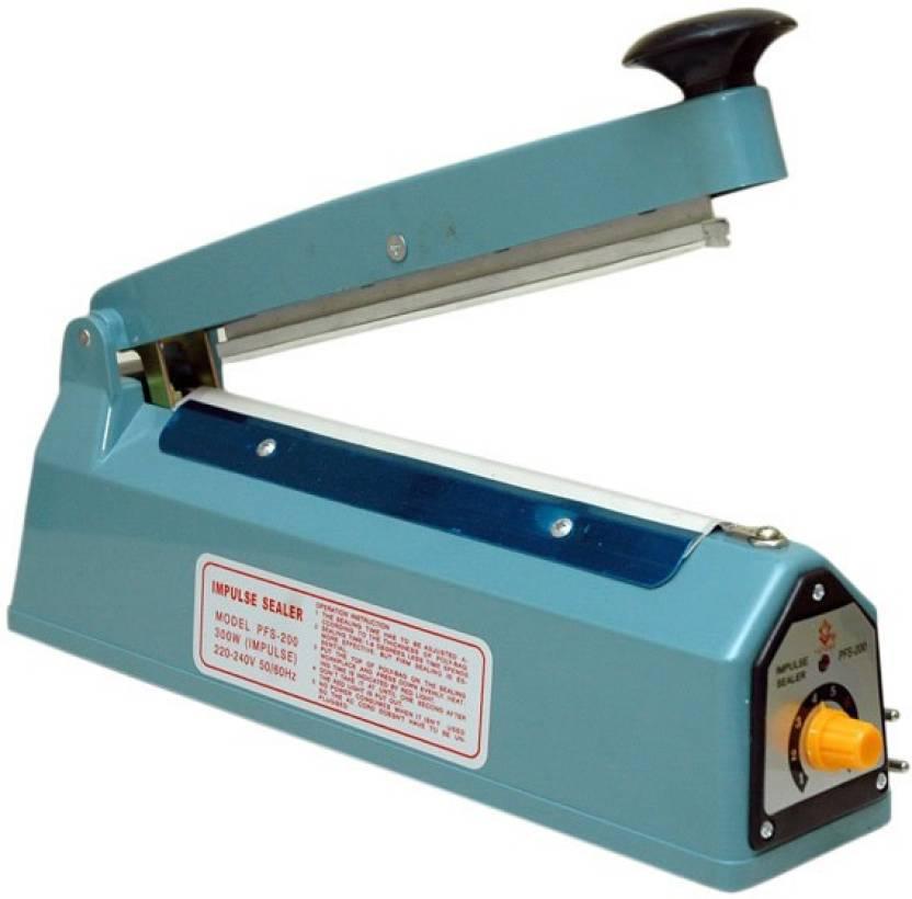 Babji 12 Inch Hand Sealing Machine 300 Mm For Plastic Packaging Super Fast Seal Held Heat Sealer