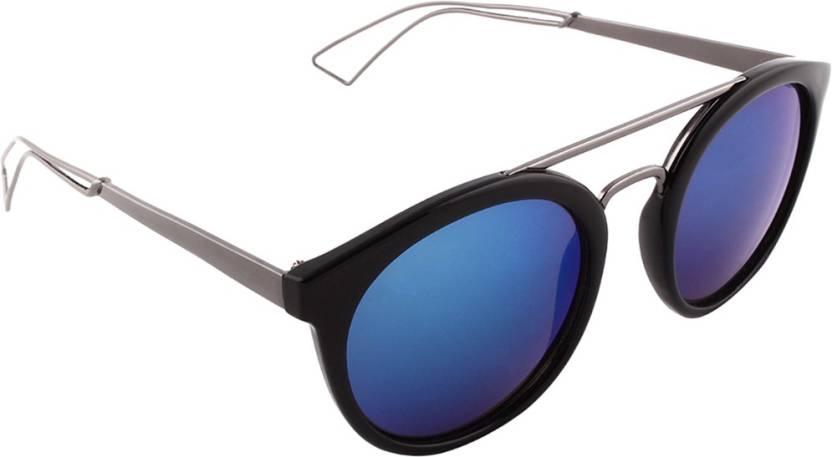 6e440c61aa2 Buy Olvin Wayfarer Sunglasses Blue For Men   Women Online   Best ...