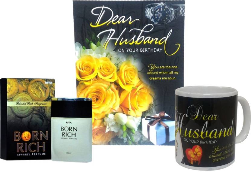 6ef4172cf0d5 Saugat Traders Birthday Gift Combo For Husband - Birthday Greeting Card