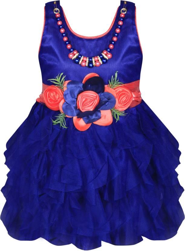 2a0ba61e296 mkb Girls Maxi Full Length Casual Dress Price in India - Buy mkb ...