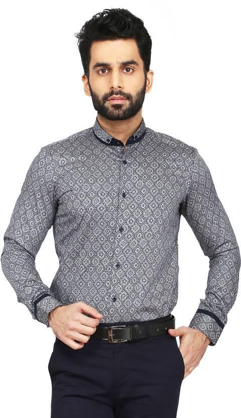 d958dfcac830 Daagwood Men's Self Design Casual Blue Shirt - Buy Daagwood Men's Self  Design Casual Blue Shirt Online at Best Prices in India | Flipkart.com