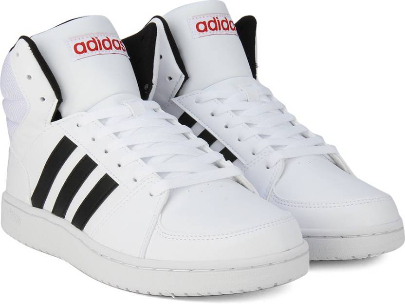 huge discount b95e9 9a800 ADIDAS NEO VS HOOPS MID Sneakers For Men (White)