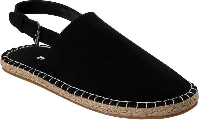 5ac25b687 Zobello Strap Black Sandal Espadrilles Espadrilles For Men - Buy ...