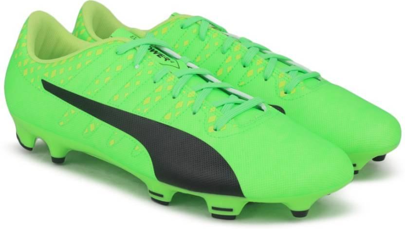1b9629bce Puma evoPOWER Vigor 4 FG Football Shoes For Men - Buy Green Gecko ...