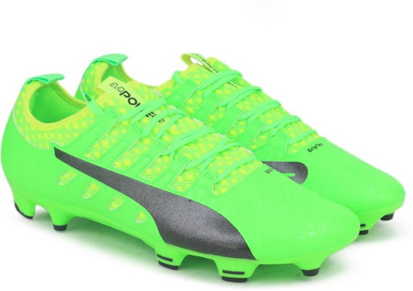 b1d279b496c Puma evoPOWER Vigor 2 FG Football Shoes For Men - Buy Green Gecko ...