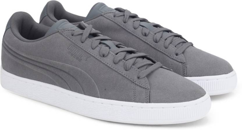 2b138c2114e Puma Suede Classic Embossed Sneakers For Men - Buy QUIET SHADE Color ...