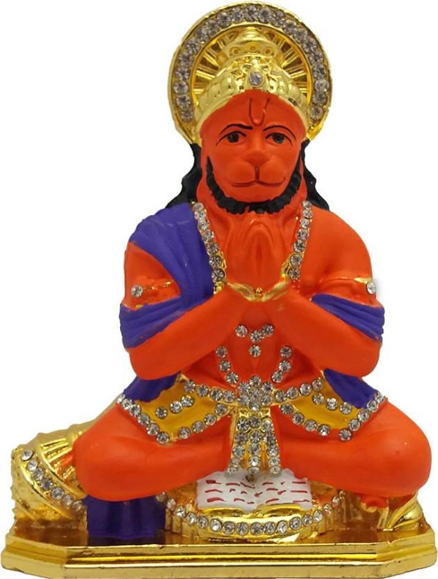 Art N Hub Lord Hanuman Idol Pooja Mandir Home Decor God
