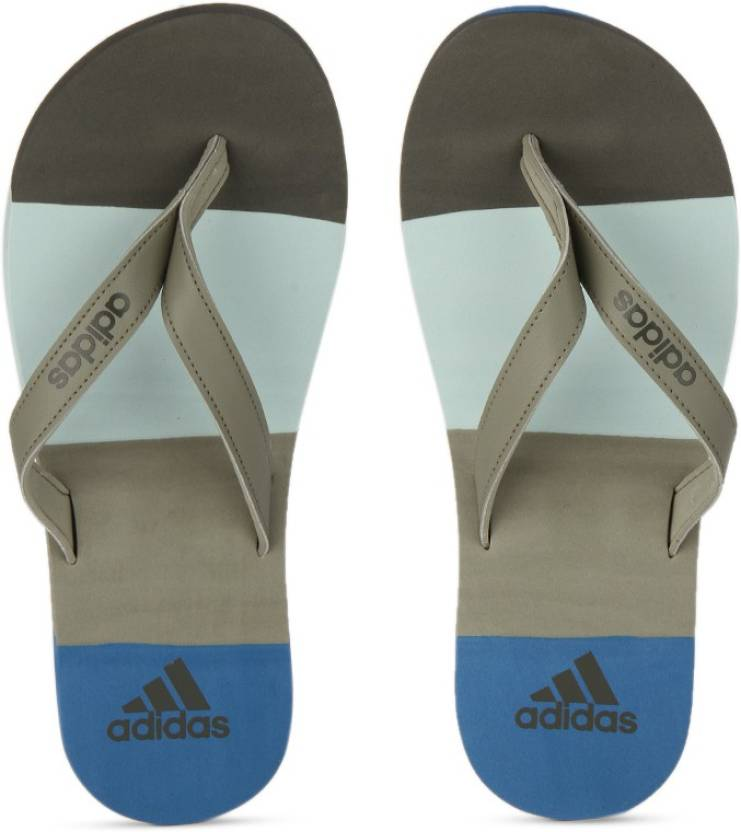 9fdba0e8dcf4 ADIDAS EEZAY STRIPED Slippers - Buy TRACAR CORBLU TACGRN Color ADIDAS EEZAY  STRIPED Slippers Online at Best Price - Shop Online for Footwears in India  ...