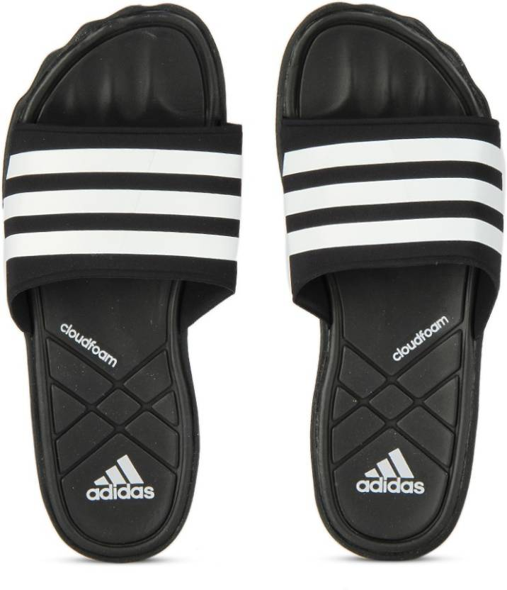 f45945b39 ADIDAS ADIPURE CF Slides - Buy CBLACK/FTWWHT/CLEGRE Color ADIDAS ADIPURE CF Slides  Online at Best Price - Shop Online for Footwears in India | Flipkart.com