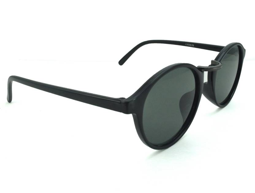 a45569ad5ccb Buy Polo House USA Oval Sunglasses Grey For Men & Women Online ...