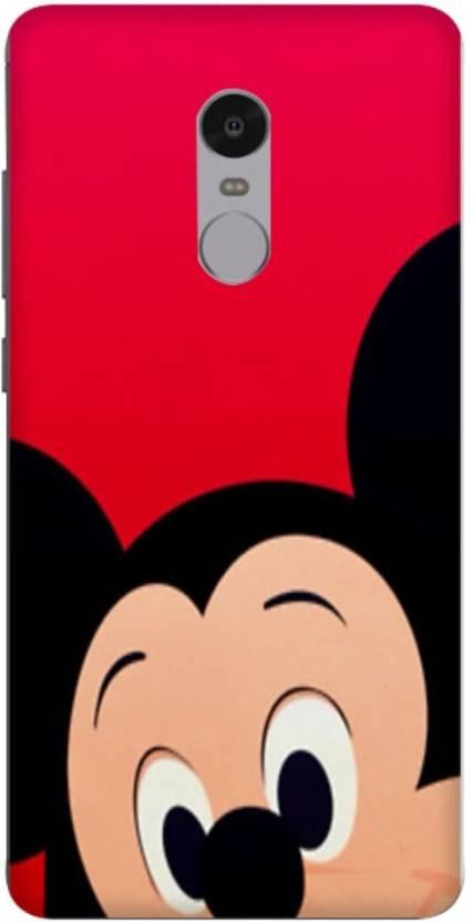 cheap for discount dfb3a 82904 Wizzart Back Cover for Mickey Mouse Print Design Mi Xiaomi Redmi ...
