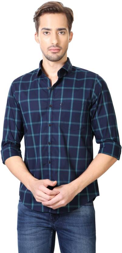 1b9a049b Peter England Men's Checkered Casual Shirt - Buy Peter England Men's  Checkered Casual Shirt Online at Best Prices in India | Flipkart.com