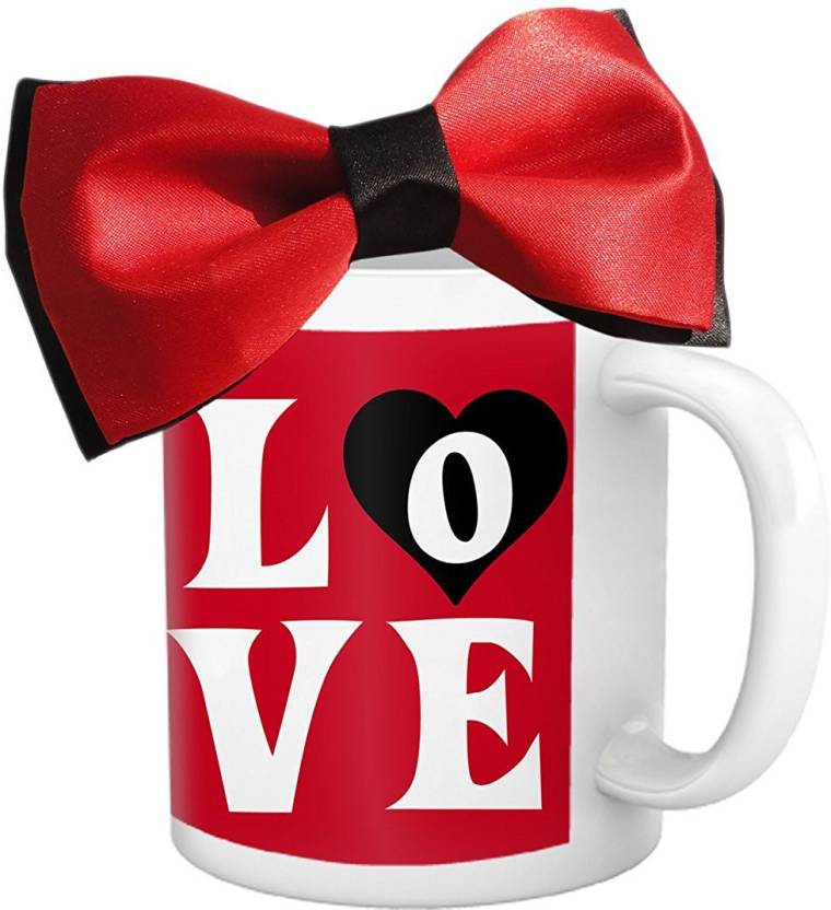 Tied Ribbons Birthday Gifts For Hubby Coffee Mug325ml With Tie Bow Mug