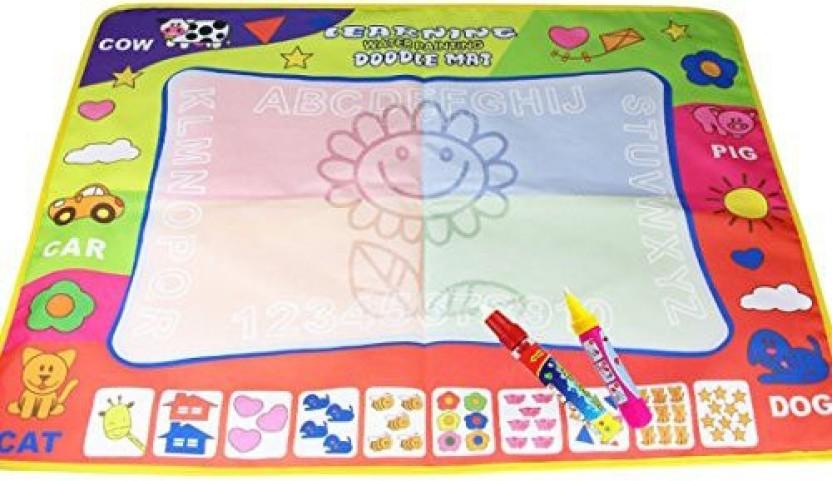 Large KIDS MAGIC WATER DRAWING TOY WRITING PAINTING MAGIC PEN DOODLE MAT BOARD