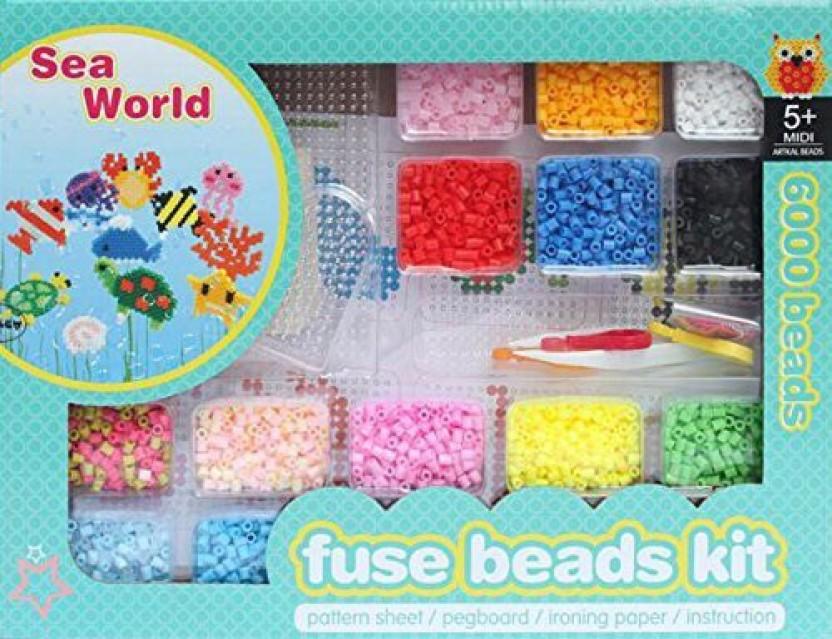 art ego trade fuse beads kit intelligent toys sea world r rh flipkart com