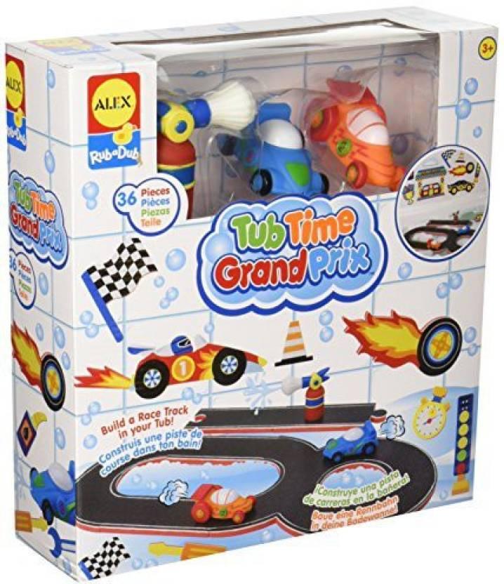 Alex Toys Rub A Dub Tub Time Grand Prix - Rub A Dub Tub Time Grand ...