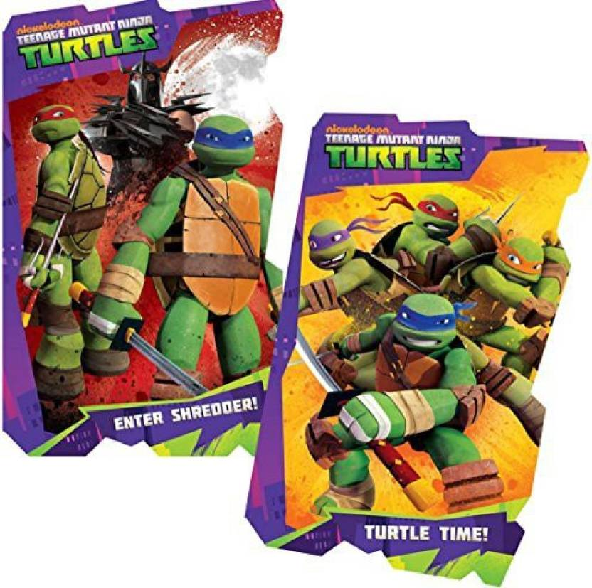 Nick Jr Age Mutant Ninja Turtles Board Book Set 2 Shaped Books Bath