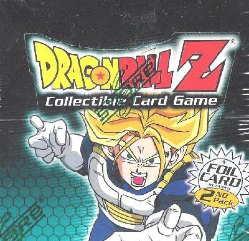 DragonBall Z Saiyan Saga 4 Sealed Collectible Card Game Booster Packs 2000 Score