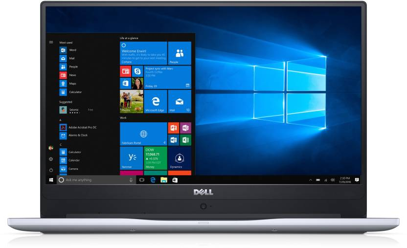 Dell Inspiron 7000 Core i7 7th Gen - (8 GB/1 TB HDD/128 GB SSD/Windows 10 Home/4 GB Graphics) 7560 Laptop