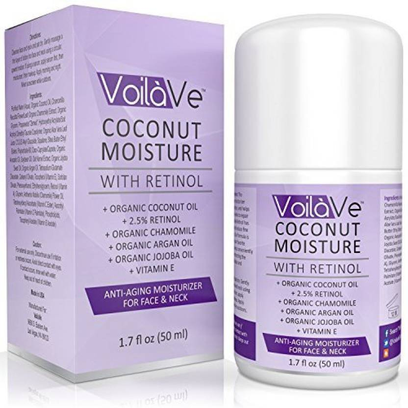 VoilaVe Coconut Moisture with Retinol Organic - Price in