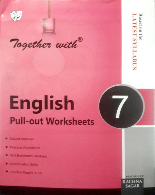 Together With English Pull Out Worksheets Class 7 Buy Together With