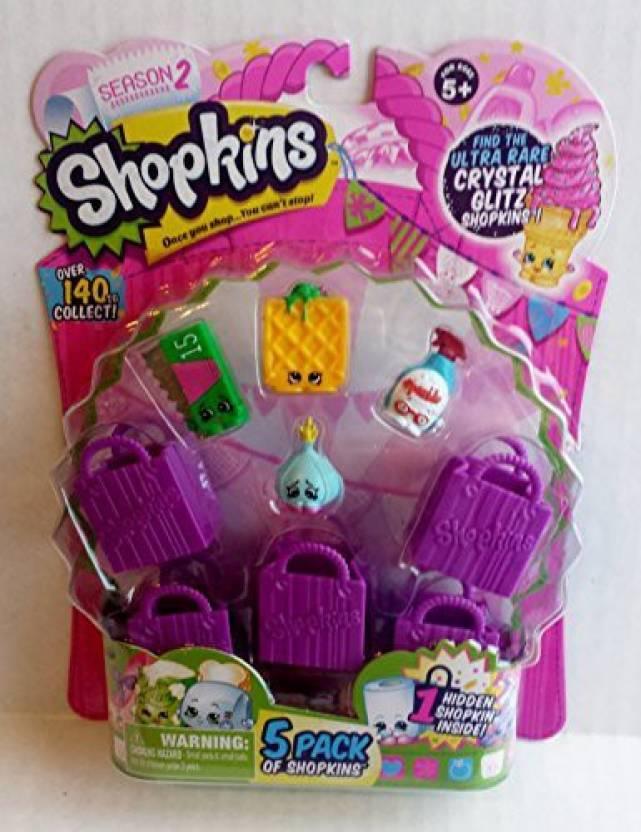 Shopkins Season 2 5 Pack Set 6