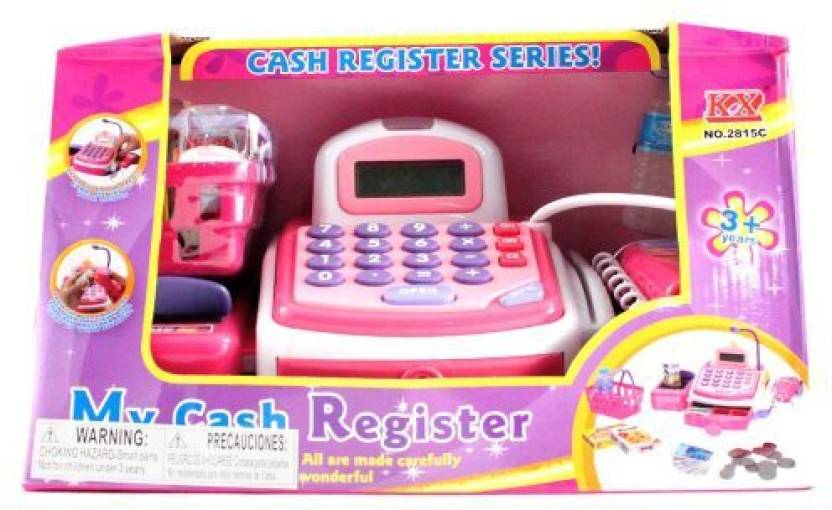 Kidfun Products Deluxe Edition Pretend Play Electronic Cash