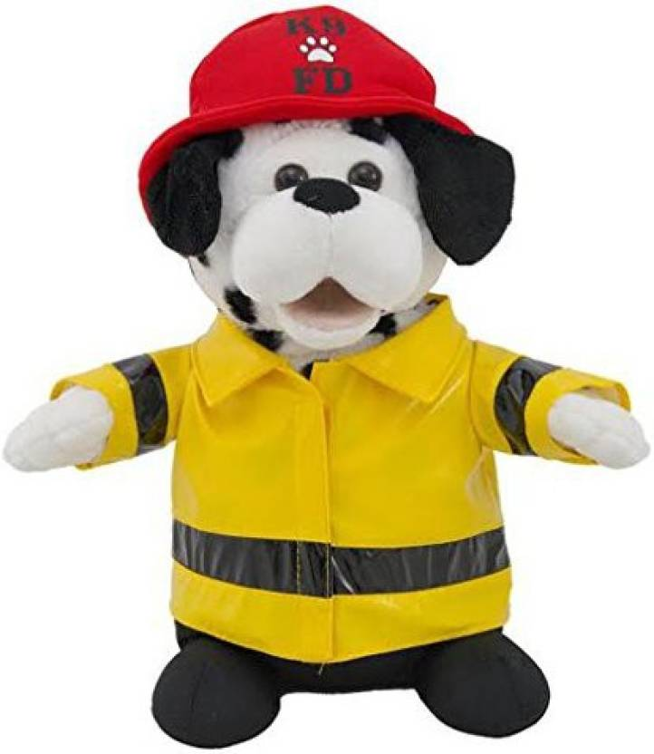 57a1a772 Cuddle Barn Animated Plush Firefighter Dalmatian Dog Toy - Sparky (Cb7833)  - 5.3 inch (Multicolor)