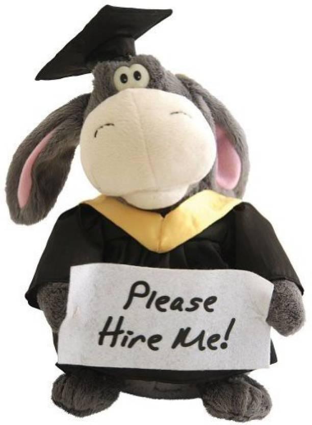 Sound & Light/Cuddle Barn Animated Graduation Donkey Plush