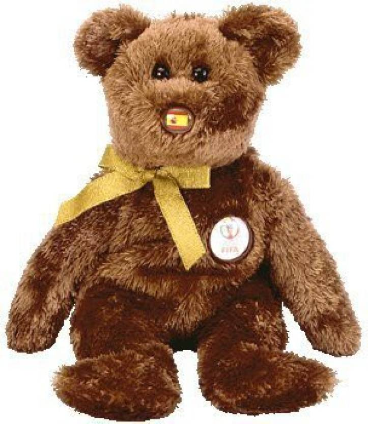 ty Beanie Baby - Champion The Fifa Bear ( Spain ) - 1.1 inch (Multicolor) 1e2f068678d