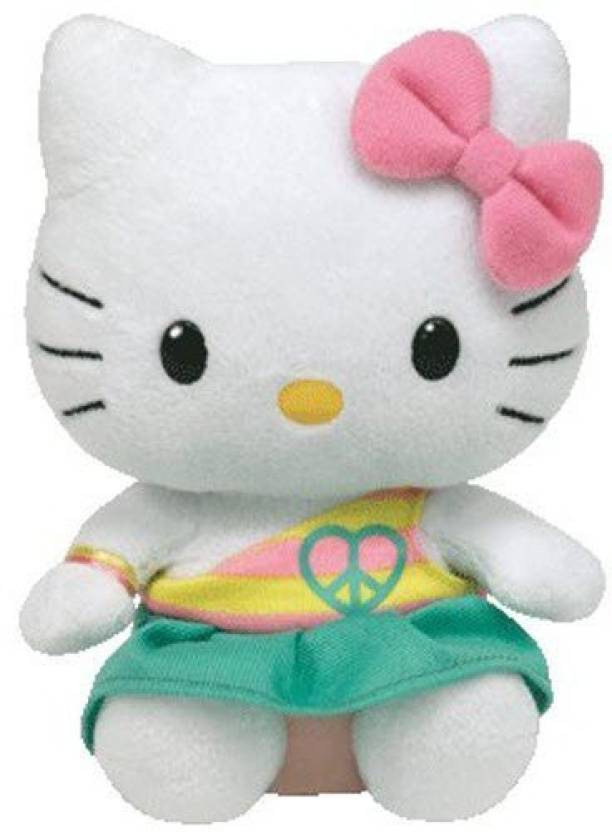704e09a0b8a TY Beanie Baby Ty Hello Kitty - Peace - 2.4 inch - Ty Hello Kitty ...