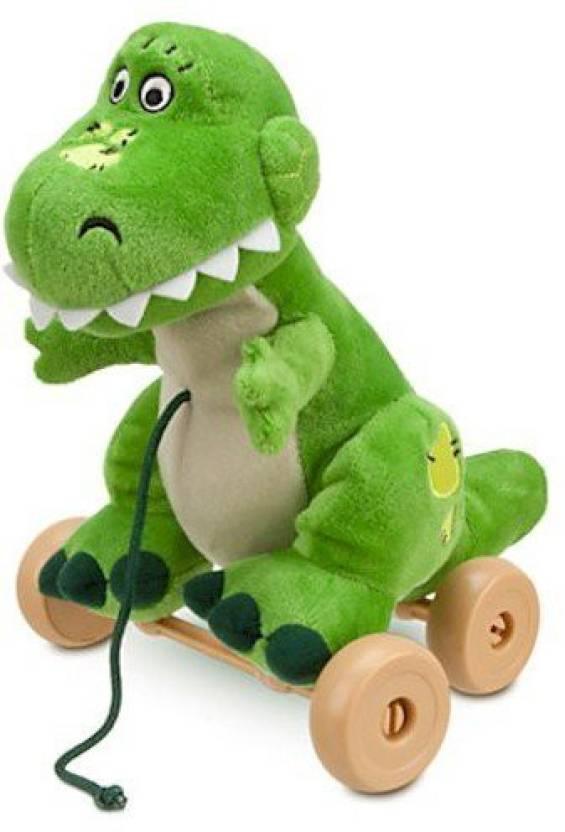 Disney Toy Story Rex Plush Pull Toy 4 3 Inch Toy Story Rex Plush