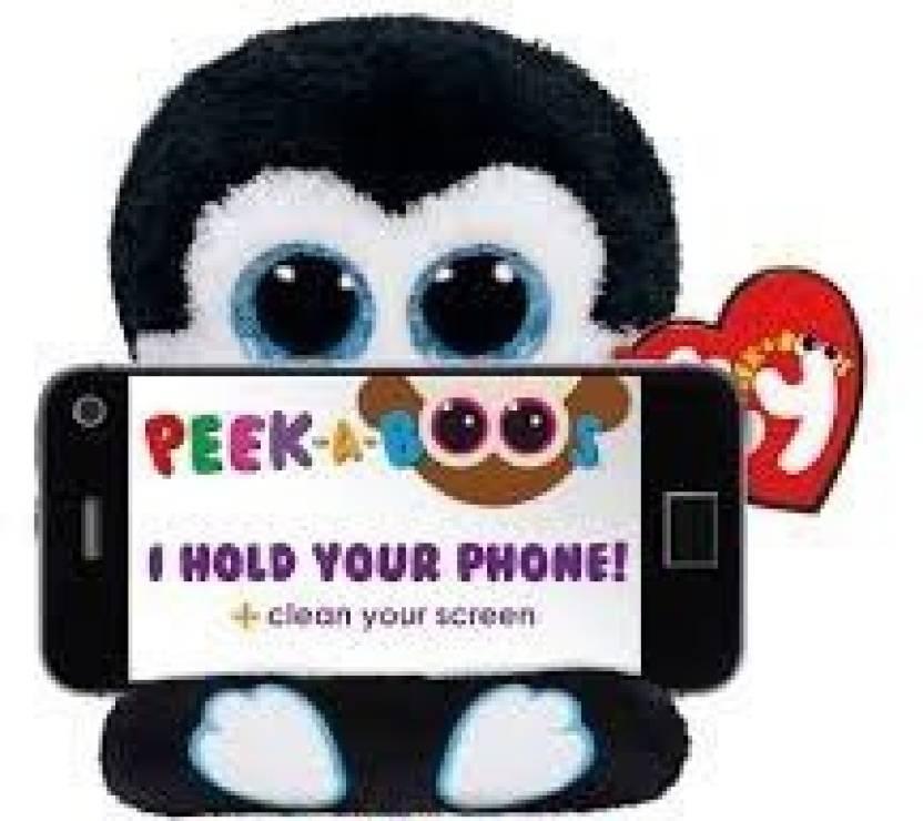 9f942c7a26e Peekaboo Ty Phone Holder With Screen Cleaner Bottom